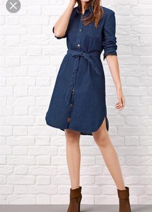 Новое джинсовое платье размер 48/50(l-xl)