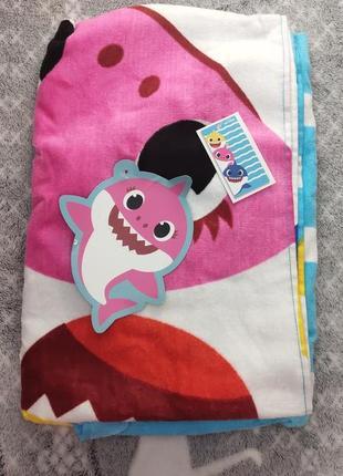 Полотенце акуленок baby shark