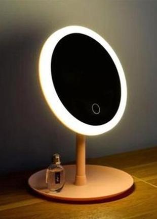 Зеркало с led подсветкой для макияжа настольное led lighted