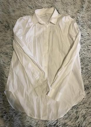Белая рубашка cos