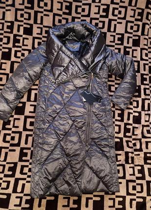 Новое зимне пальто одеяло пуховик