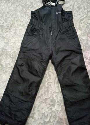 Полукомбенизон. лижние штани