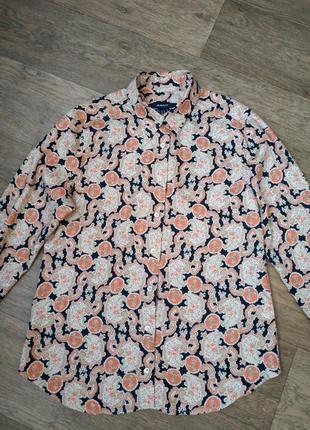 Нарядная рубашка, блуза gant / гант. женская блузка.