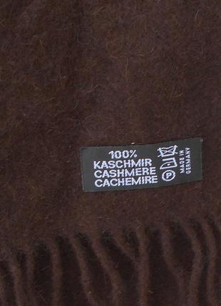 Классический 100% кашемировый шарф2 фото