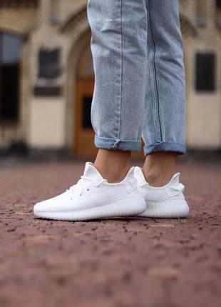 Adidas yeezy boost 350 🍏 стильные женские кроссовки адидас изи