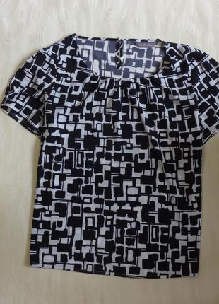 Блуза шелковая marks&spencer, р.18-20