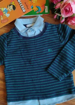 Шикарный свитер на парнишку jasper conran на 1,2-2 года.