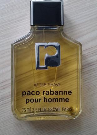 Paco rabanne pour homme лосьон после бритья