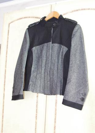 Пиджак 100%шерсть оригинал karen millen