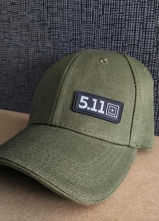 Тактическая кепка-бейсболка 5.11(олива)