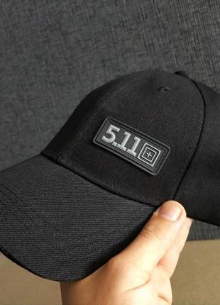 Тактическая кепка-бейсболка 5.11(черный)
