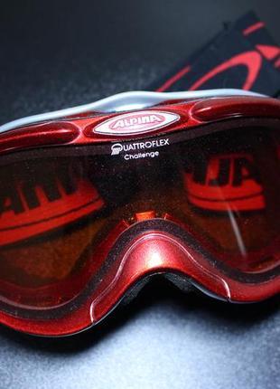 Оригинал alpina challenge 2.0 горнолыжная маска очки германия