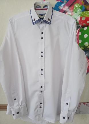 Белая базовая рубашка с отделкой lpt рs