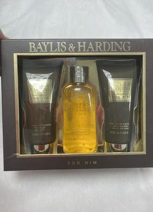 Набор для душа baylis& harding black pepper для него