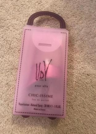 Ulric de varens chic issime женская парфюмированная вода 30мл,75мл
