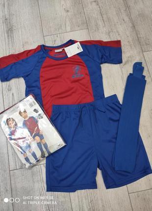 Футбольная форма комплект футболка шорты гетры crane 122/128, 134/140 и 146/152