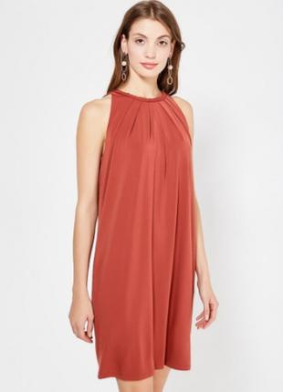 Вечернее/выпускное платье марсала/красный