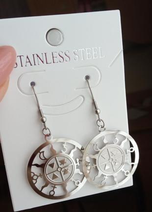 Очень красивые и оригинальные серьги кольца