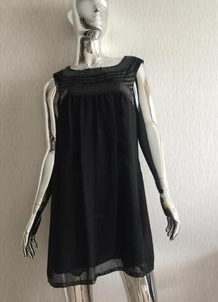 Маленькое чёрное платье в пайетки autograph