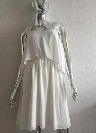 Воздушное платье сарафан кружево бретели atmosphere пятна