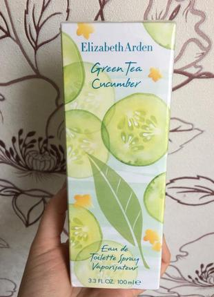 Туалетная вода elizabeth arden green tea cucumber 100 ml