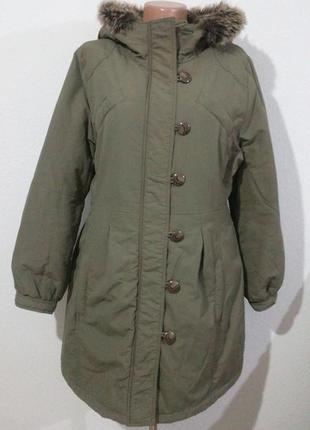 Тепле пальто на стьоганій підкладці reserved