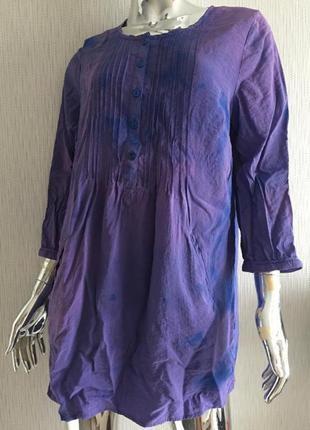 Платье туника варёнка classic