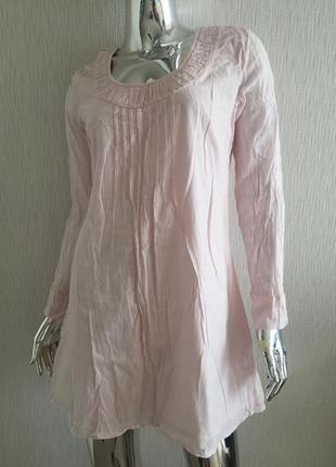 Платье рубашка с рукавом free quen