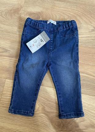 Новые джинсы на девочку , джинсы для девочки 74 р