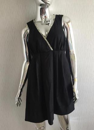 Платье сарафан в клетку culture