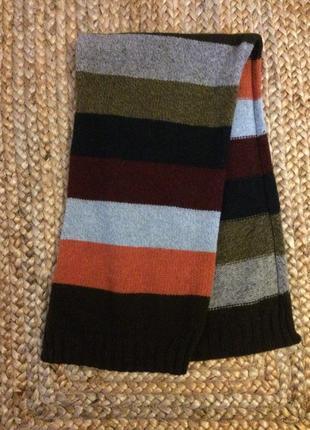Очень мягкий приятный на ощюпь шарф из шерсти  англия