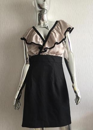 Платье футляр с воланами h&m