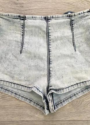 Крутые джинсовые шорты с завышенной талией asos высокая посадка