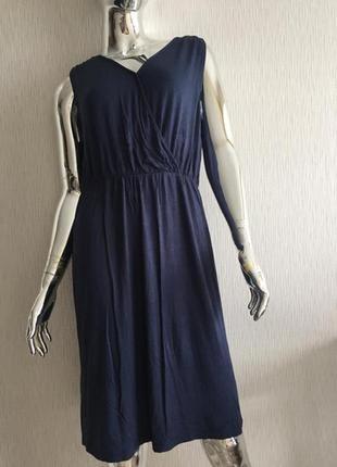Платье трикотаж на резинке janina