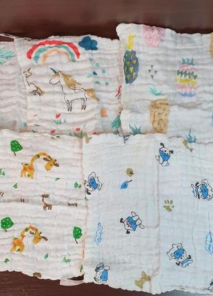 Муслиновые полотеничка