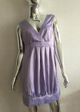 Платье сарафан бочонок vila