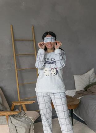 Классная флисовая пижамка