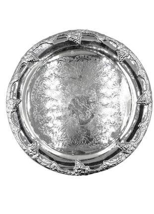 Сервировочная тарелка для винограда.   швеция, 20 век.