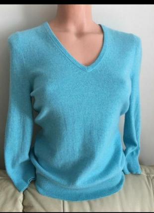 Кашемировый свитер джемпер полувер