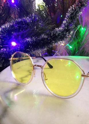 Модные, нежные солнцезащитные очки