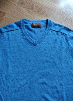 Кашемировый свитер джемпер полувер pure cashmere