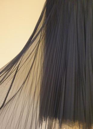 Спідниця-фатин плісеровка