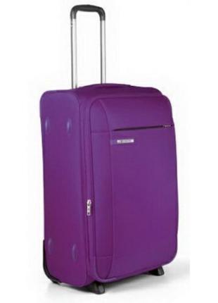 Чемодан american tourister большой фиолетовый