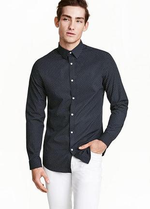 Рубашка easy iron h&m
