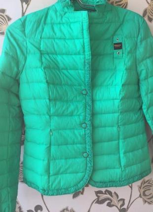 Blauer оригинал пуховик стеганая куртка на пуху стеганка