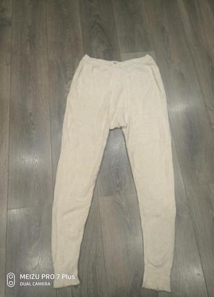 Очень теплые ангоровые, шерстяные термо штаны, кальсоны angora 9000