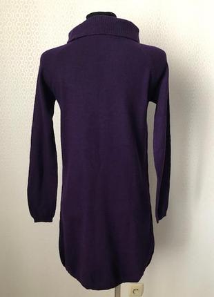Теплое платье (шерсть, кашемир) с высоким воротом от hallhuber, размер s, нюанс
