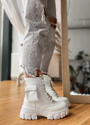 Белые ботинки / білі боти