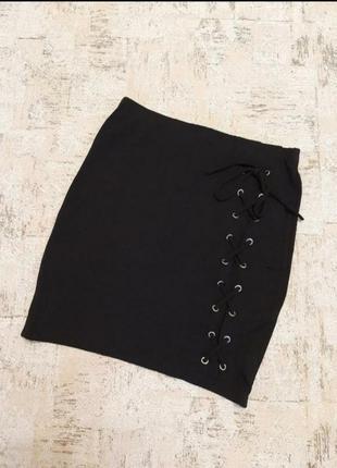 Новая юбка с класной шнуровкой / юбка нова