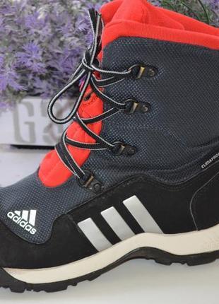 Зимние термоботинки adidas адидас р. 36 по стельке 23,5 см
